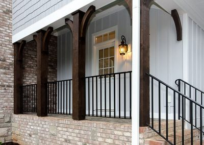 R.E. Collier INC, Builder custom home porch