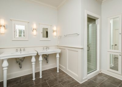 R.E. Collier INC, Builder custom home bathroom