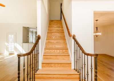 R.E. Collier INC, Builder custom home stairway