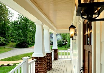 R.E. Collier INC, Builder custom front porch