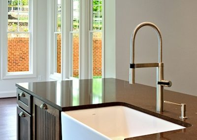 R.E. Collier INC, Builder custom home with farmhouse sink