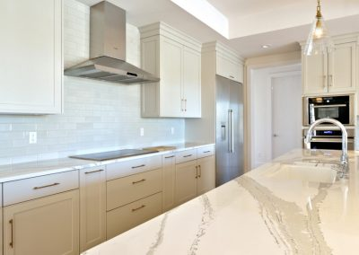 R.E. Collier INC, Builder custom kitchen with granite countertops