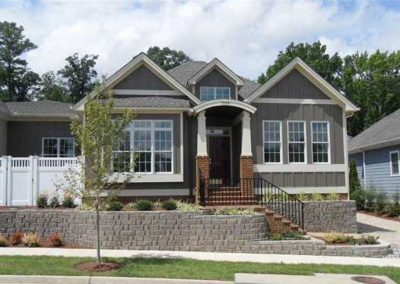R.E. Collier INC, Builder custom home Exterior Front build on your lot