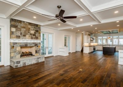 R.E. Collier INC, Builder custom home interior